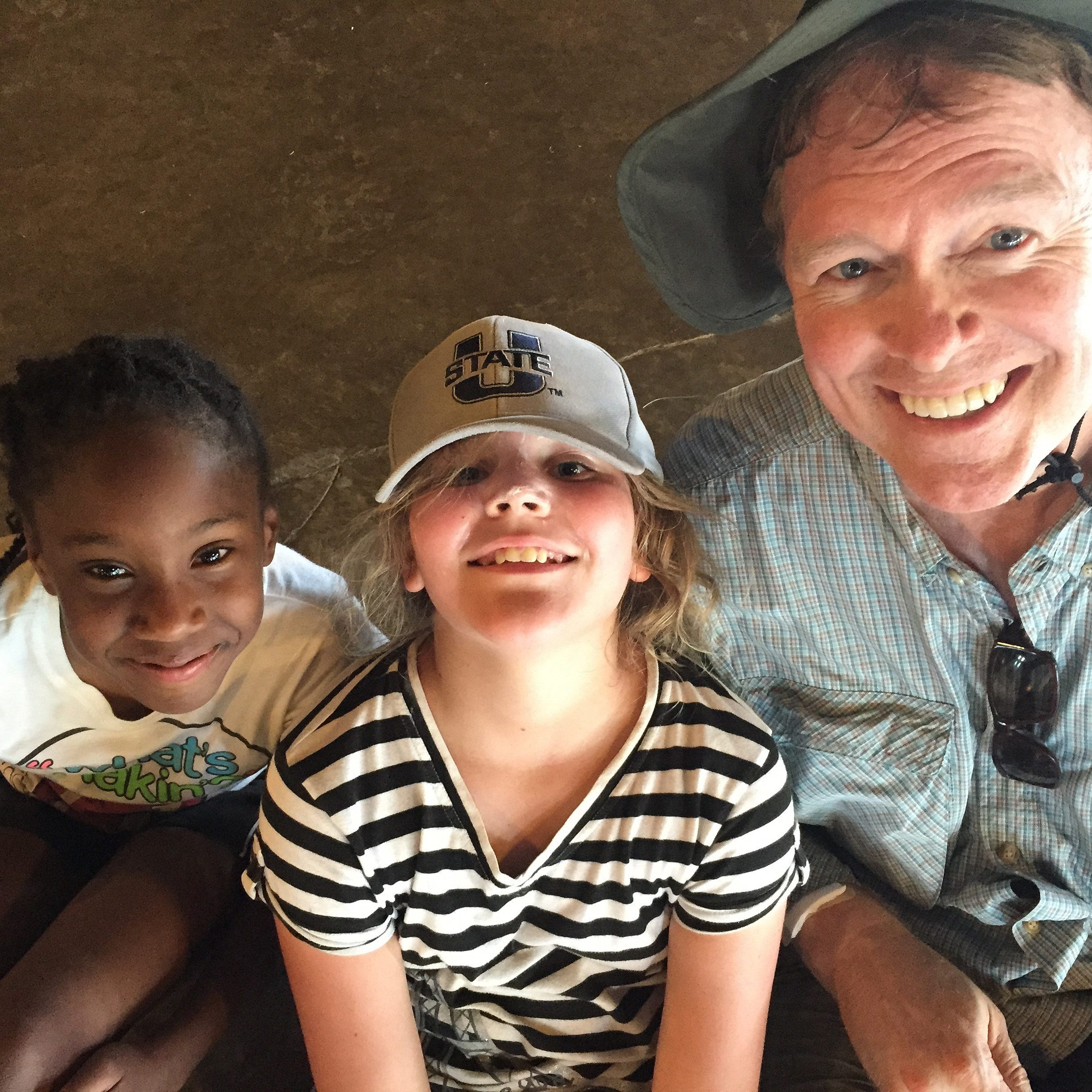 Dallas Initiative, Greg Headington with Kids | Global Faith Project